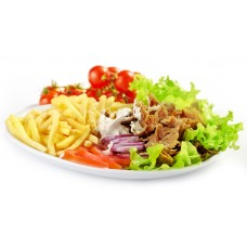 Kebab als Menü